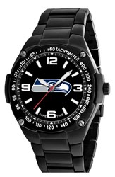 Men's Game Time Watches 'Nfl Gladiator Seattle Seahawks' Bracelet Watch 48Mm Seattle Seahawks