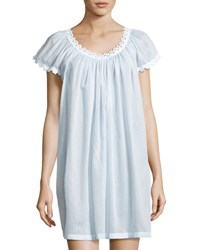 Celestine Jule Cap Sleeve Short Nightgown Light Blue