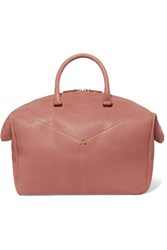 Jerome Dreyfuss Gerald Textured Leather Tote Pink