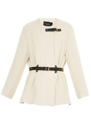 Isabel Marant Glasco Belted Quilted Jacket