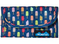 Kavu Big Spender Popsicle Party Wallet Handbags Blue