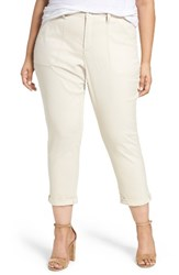 Nydj Plus Size Women's Reese Relaxed Chino Pants