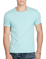 Polo Ralph Lauren Jersey Pocket Tee True Aqua