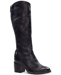 Patricia Nash Loretta Tall Riding Boots Women's Shoes Black