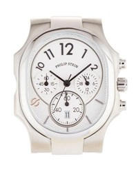 Philip Stein Teslar Large Classic Chronograph Watch Head Silver
