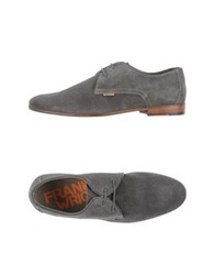 Frank Wright Lace Up Shoes Lead