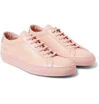 Common Projects Original Achilles Leather Sneakers Pink