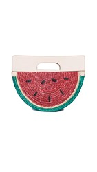 Alice Olivia Donna Watermelon Half Circle Bag Multi