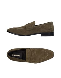 Pollini Loafers Military Green