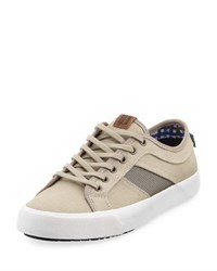 Ben Sherman James Lace Up Canvas Sneaker Gray