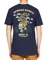 Insight Unfinished Business Graphic Muscle Tee Multi