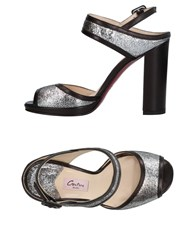 Couture Sandals Silver