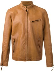 Polo Ralph Lauren Cafe Racer Jacket Nude Neutrals