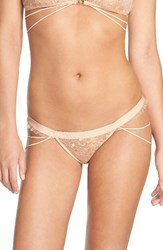For Love And Lemons Women's Zodiac Thong Nude