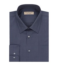 Burberry Prince Of Wales Check Shirt Male Navy