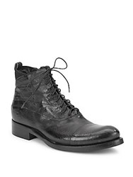 Jo Ghost Cap Toe Lace Up Boots Washburn