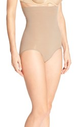 Women's Spanx 'Higher Power' High Waist Shaping Panty Taupe Tone
