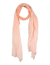 Scotch And Soda Accessories Oblong Scarves Women Salmon Pink