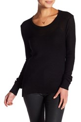 14Th And Union Open Back Sweater Petite Black