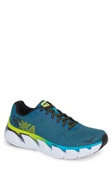 Hoka One One Elevon Running Shoe Caribbean Sea Black