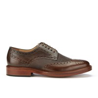 Paul Smith Shoes Men's Xander Leather Brogues Dark Tan