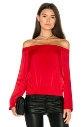Bardot Paige Top Red