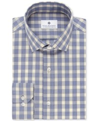 Ryan Seacrest Distinction Men's Slim Fit Non Iron Check Dress Shirt Only At Macy's Yellow