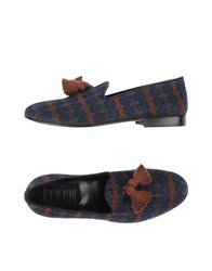 Never Ever Footwear Moccasins Men Dark Blue