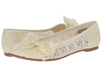 Chinese Laundry Gee Whiz Beige Blossom Women's Dress Flat Shoes