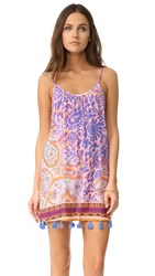 Bindya Paisley Cover Up Dress Purple