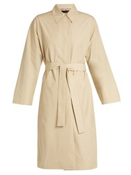 The Row Trentz Twill Trench Coat Light Beige
