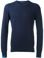 Etro Crew Neck Jumper Blue