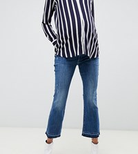 Dl1961 Lara Maternity Straight Leg Jean Blue