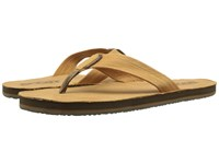 Scott Hawaii Kakina Tan Men's Sandals