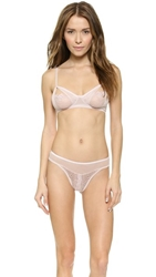 Only Hearts Club Coucou Soft Cup Bralette Shell Shell