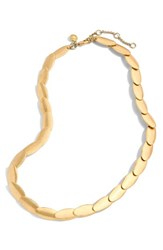 J.Crew Oval Necklace Gold