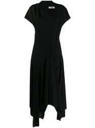 Chalayan Casual Day Dress Black