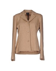 Trussardi Jeans Suits And Jackets Blazers Women Camel