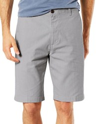 Dockers Classic Fit Perfect Shorts Open Grey