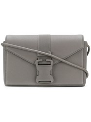 Christopher Kane Devine Shoulder Bag Grey