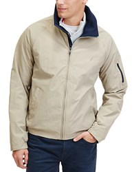 Nautica Anchor Lightweight Bomber Jacket Beige