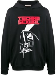 Christopher Kane Techno Sexual Print Hooded Sweater 60