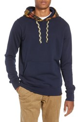 Scotch And Soda Contrast Hooded Pullover Combo A