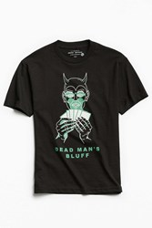 Urban Outfitters Uo Artist Editions Chris Morrison Devil's Deal Tee Black