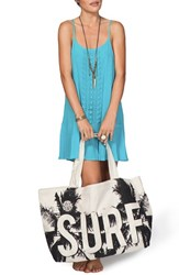 Rip Curl 'Catching Rays' Canvas Beach Bag