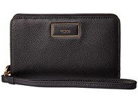 Tumi Belden French Purse Black Wallet Handbags