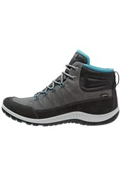 Ecco Aspina Walking Boots Moonless Dark Shadow Grey
