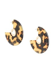 Rachel Comey Pac Disc Earrings Black