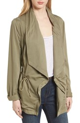 Bagatelle Drape Jacket Light Olive