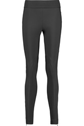 Stella Mccartney Heather Stretch Cotton Blend Jersey Leggings